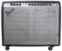 Fender twin reverb guitar amplifier.