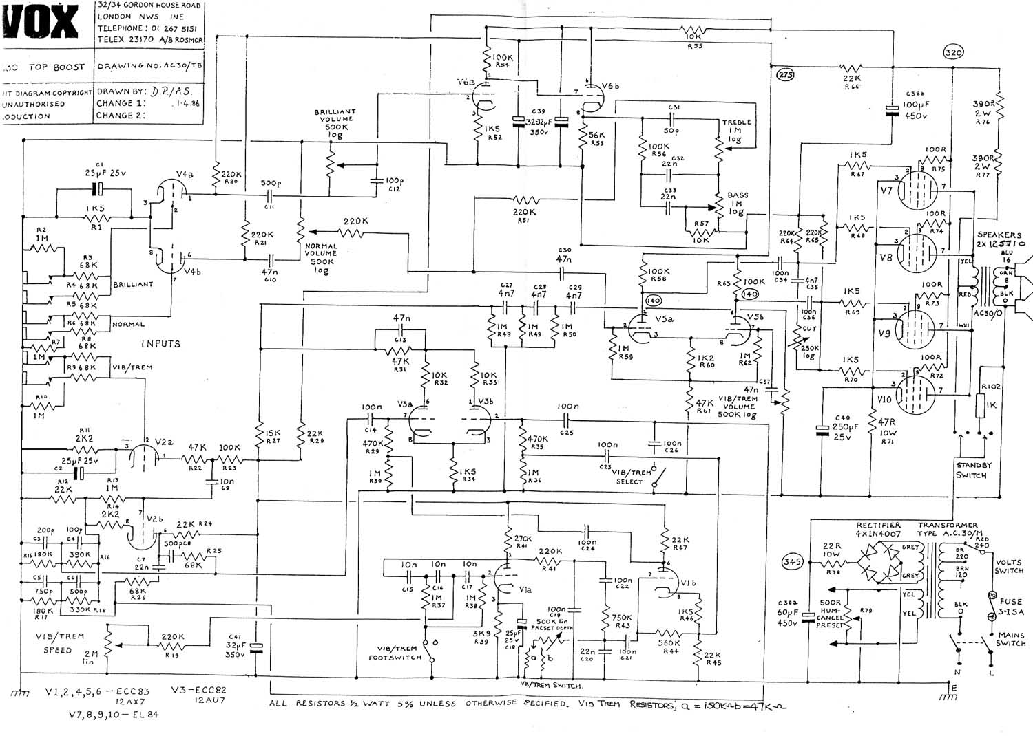 Peavey Speaker Wiring Diagram Free Download Early Classic Schematic Electrical Drawing U2022 Tower At